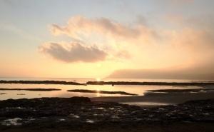 Coastline at sunrise